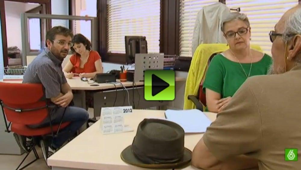 Salvados habla con parados en una oficina de empleo