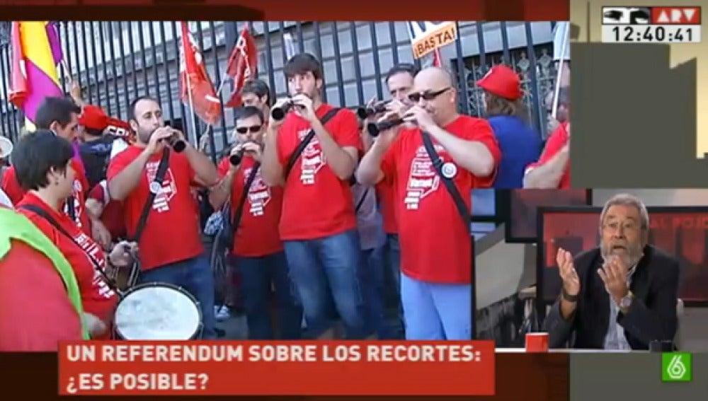 Candido Méndez en Al Rojo Vivo