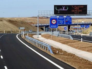 Entrada a la autopista R-2