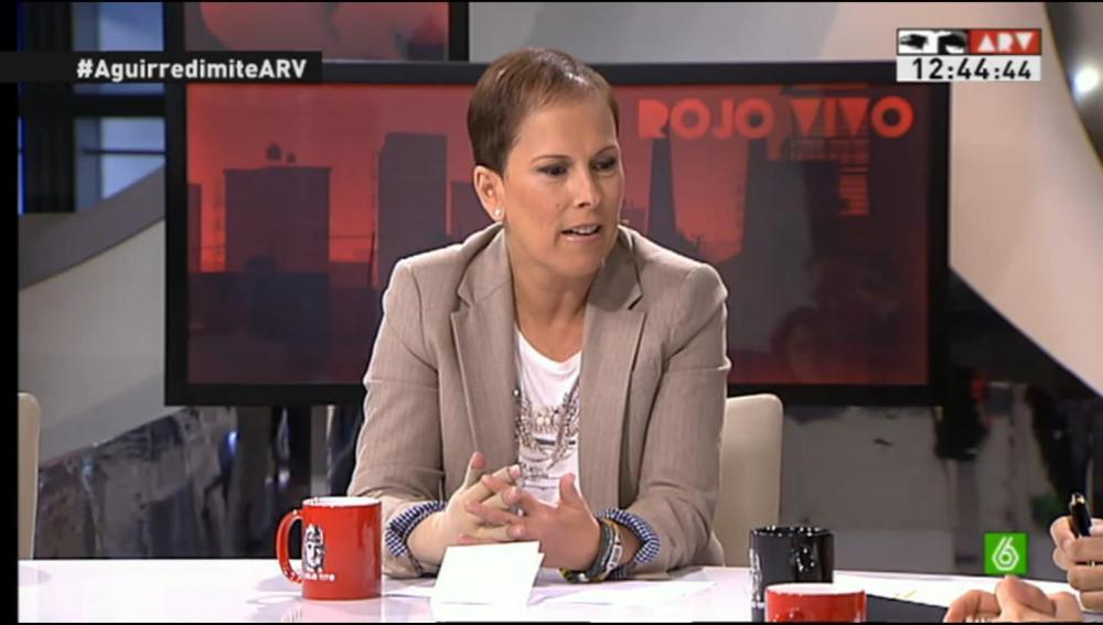Uxue Barcos en Al Rojo Vivo