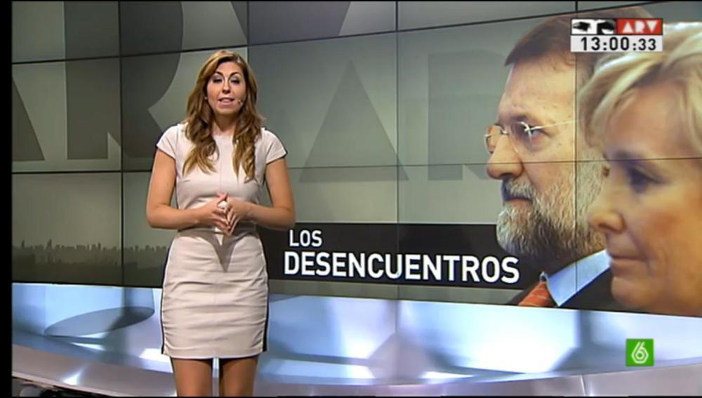 Ines García y los desencuentros de Aguirre y Rajoy