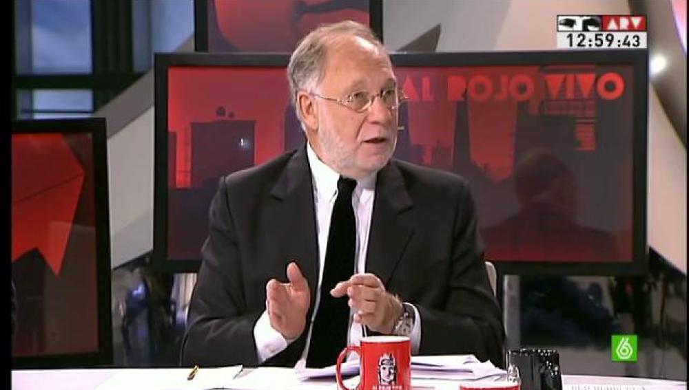 Ernesto Ekaizer en 'Al Rojo Vivo'