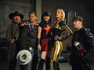 El equipo de Gibbs luchará contra superhéroes