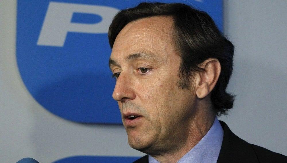 El portavoz adjunto del PP en el Congreso, Rafael Hernando.