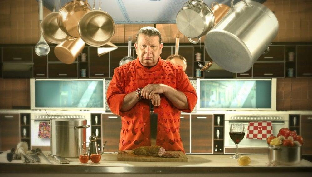 Chicote entra en la cocina de laSexta