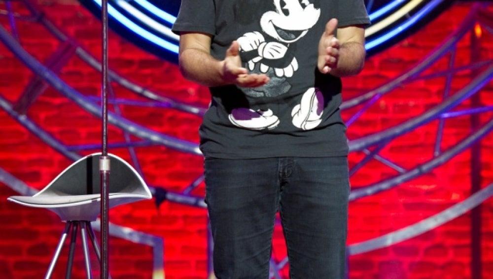 Santiago Molero en El Club de la Comedia