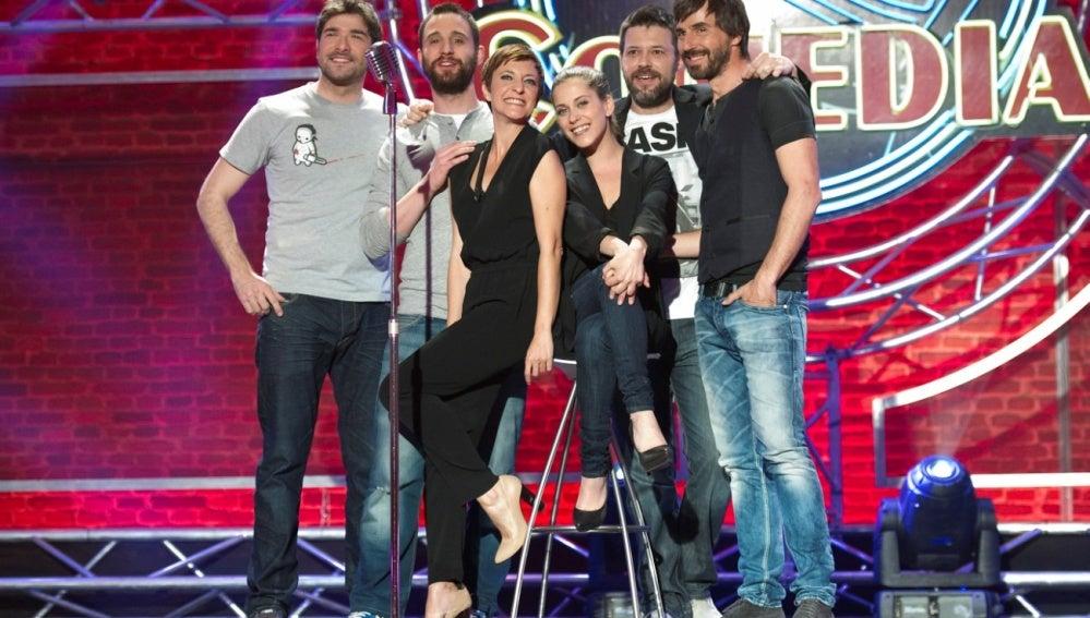 María León y Nacho García debutan en El Club de la Comedia