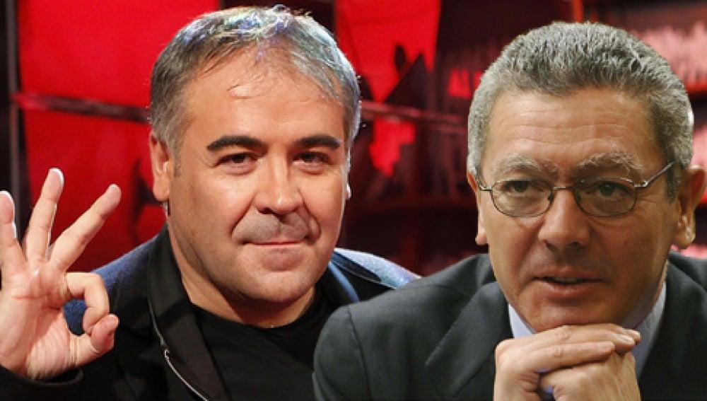 Alberto Ruiz-Gallardón en Al Rojo Vivo