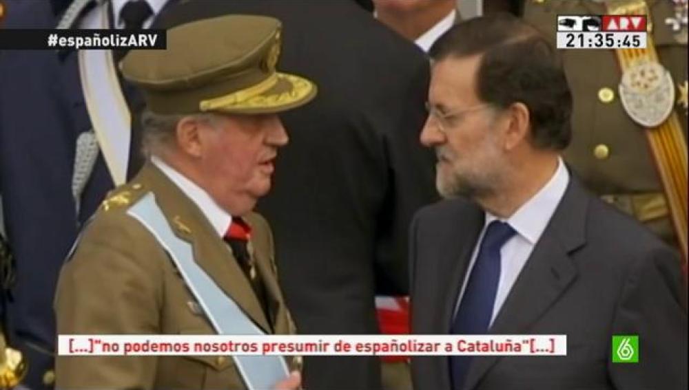 El Rey habla con Rajoy