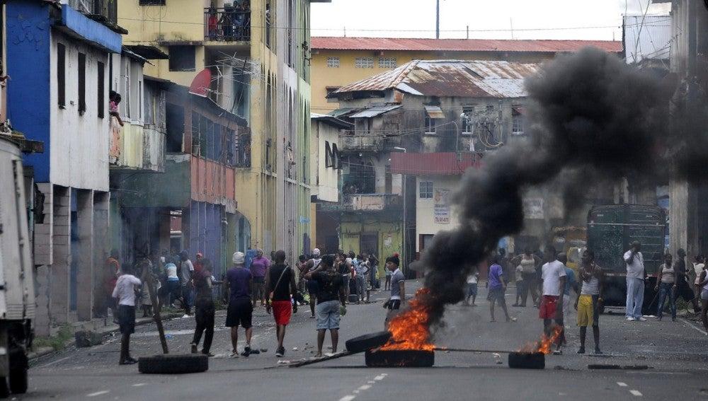 Disturbios de Panamá