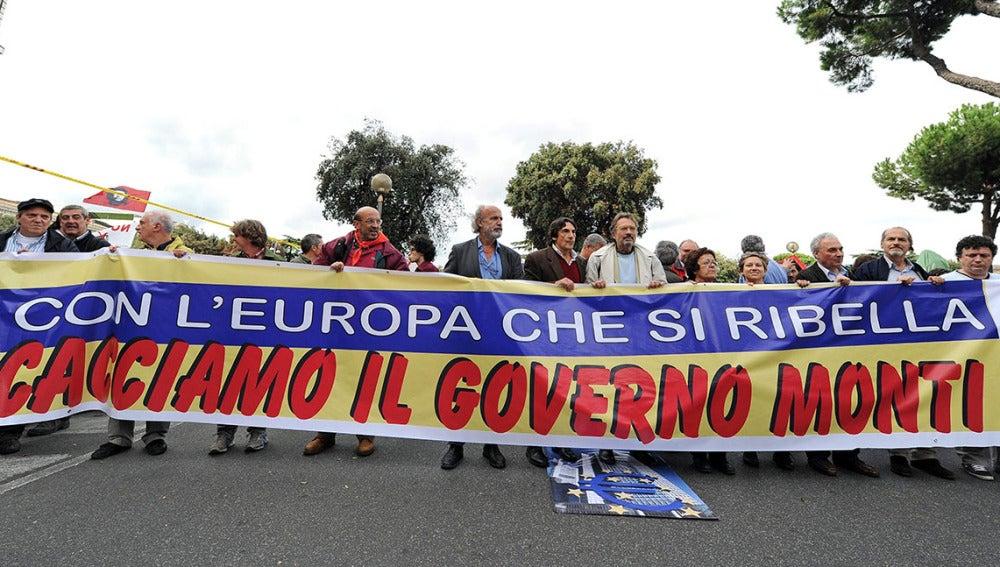 Protestas Italia