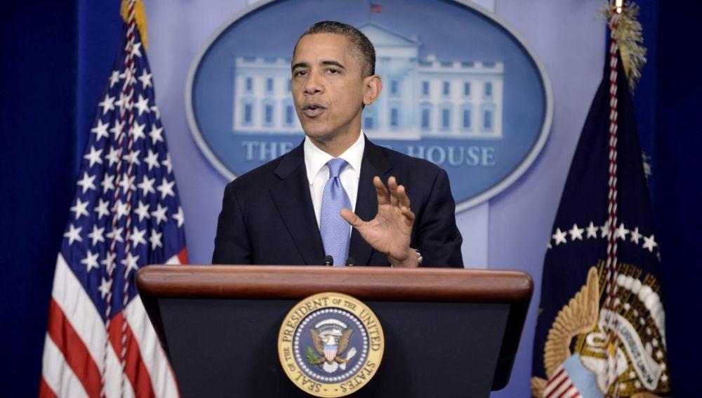 El presidente Obama habla sobre el huracán Sandy