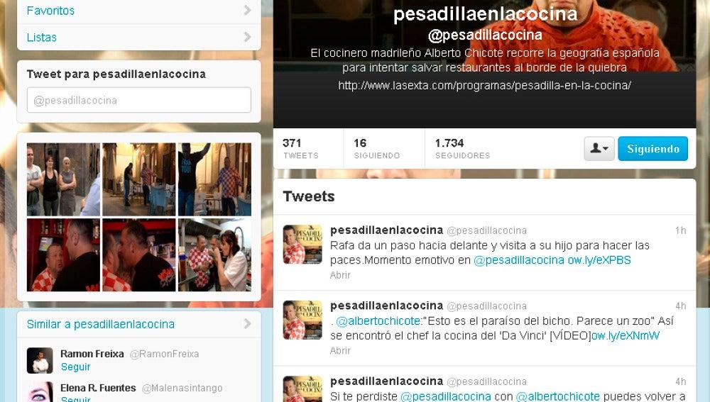 Twitter Pesadilla