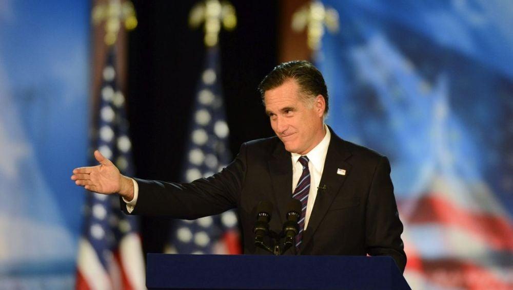 Mitt Romney habla tras su derrota