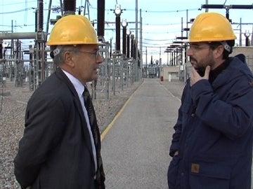 Jordi Évole con el Expresidente de Red Eléctrica de España