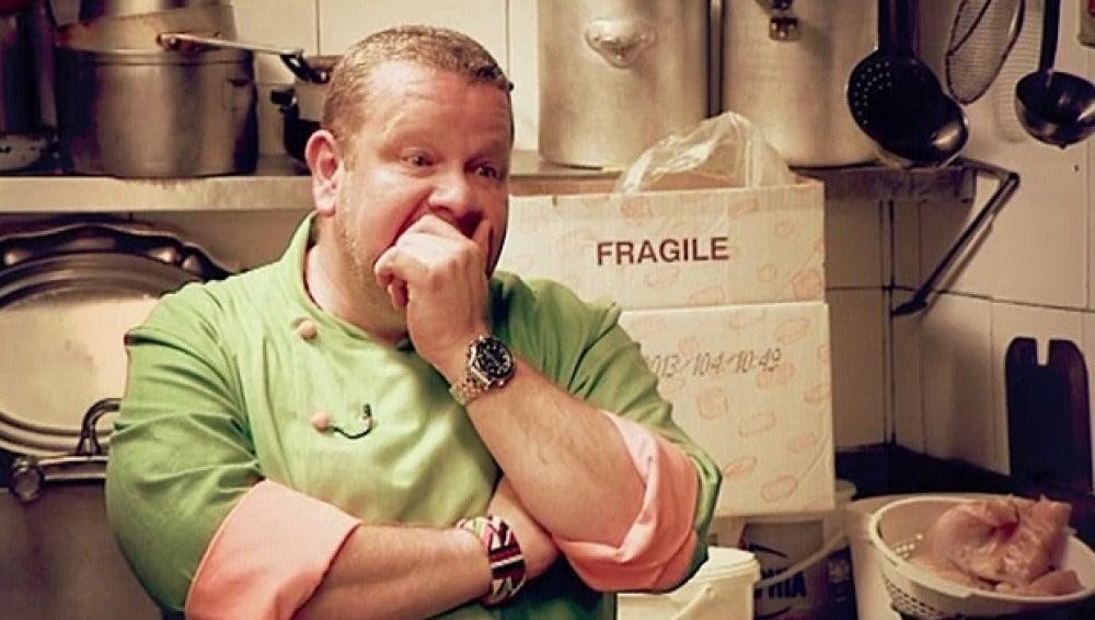 Chicote alucina con la situación en la cocina