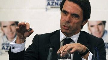 El expresidente del Gobierno José María Aznar.