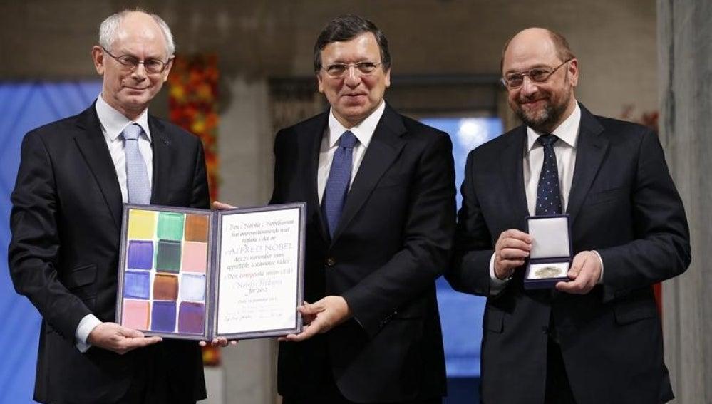 La UE recibe el Nobel de la Paz
