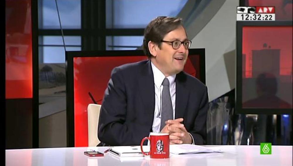 Francisco Marhuenda en Al Rojo Vivo