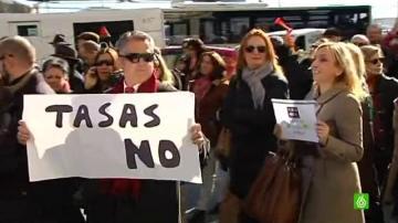 """Jueces, fiscales, secretarios, funcionarios y abogados se unen para exigir a Gallardón que """"rectifique"""""""