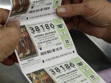 Décimos de la Lotería de Navidad