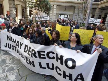 Manifestación contra el 'tasazo' de Gallardón
