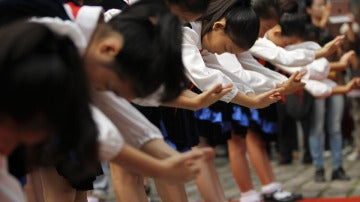 Alumnos chinos