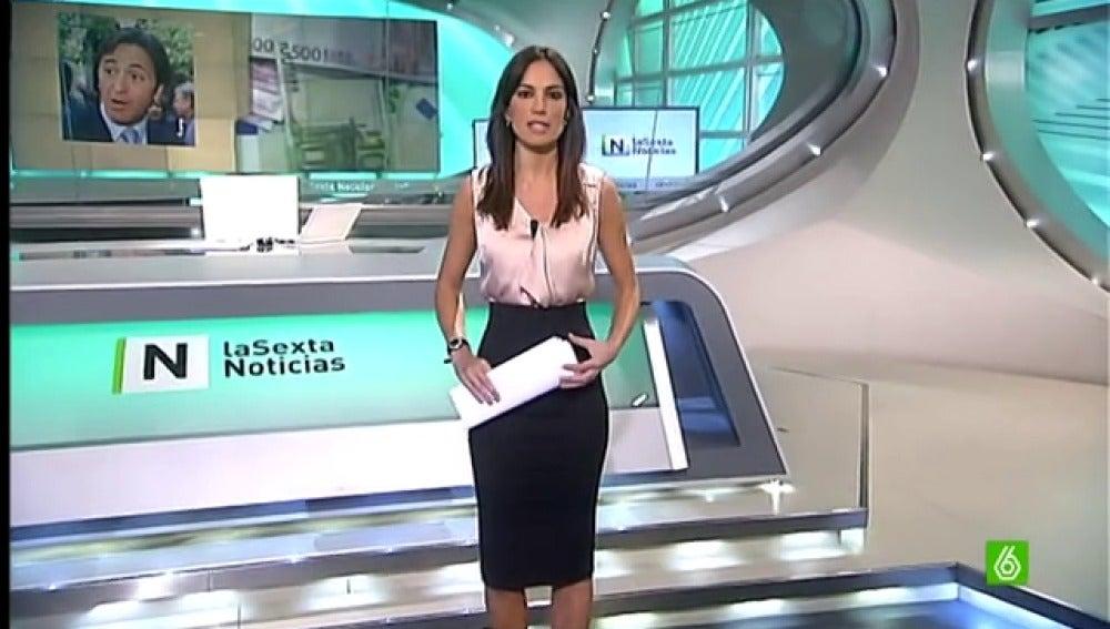 Cristina Saavedra, en 'El día en titulares' del 14-01-2013
