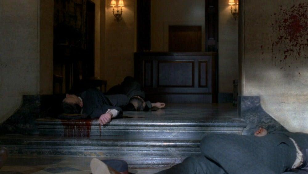 El asesinato de Charlie Sheridan y sus hombres