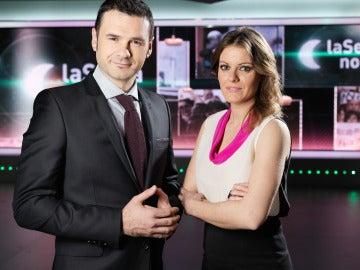 Iñaki López y Andrea Ropero, las caras visibles de laSexta Noche