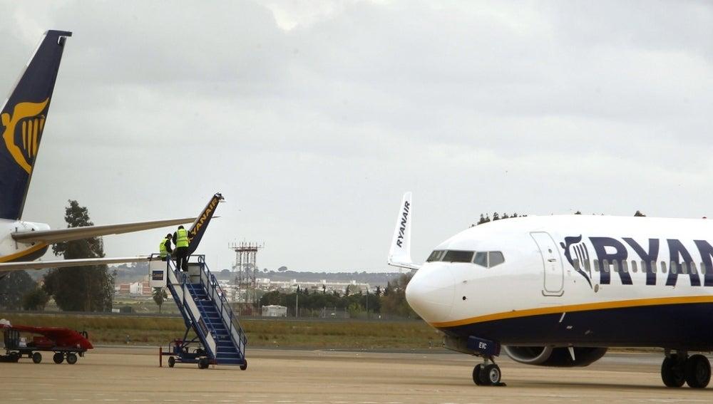 El aeropuerto de Sevilla