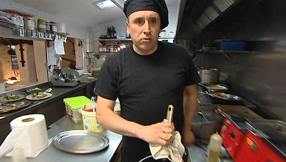 El cocinero de El Pozo Viejo