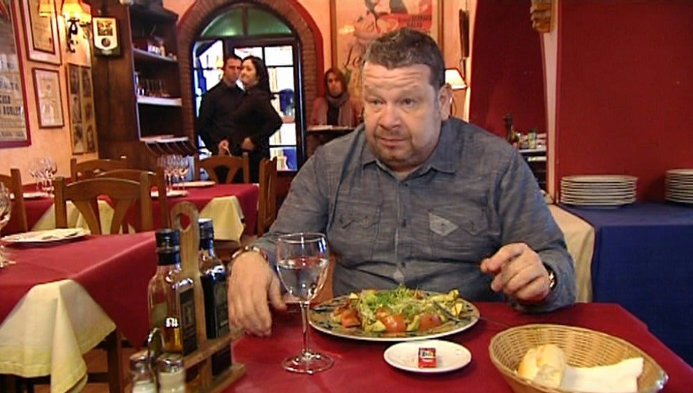 A Chicote le sabe a lejía la ensalada
