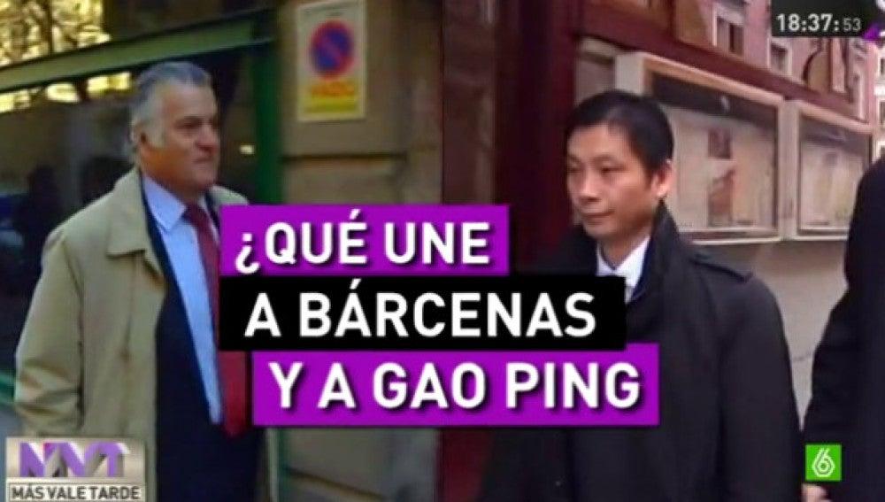 ¿Qué tienen en común Luis Bárcenas y Gao Ping?