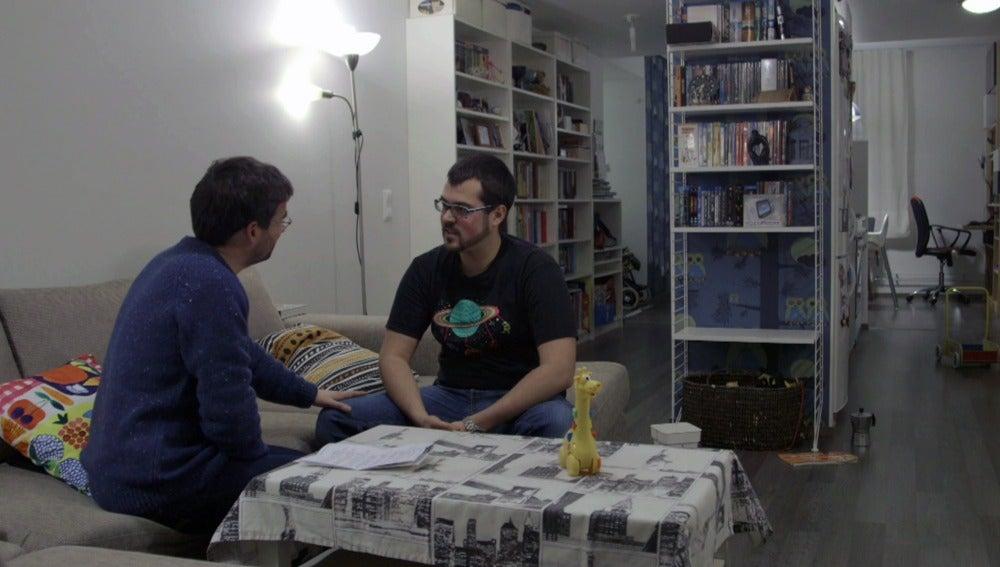 Jordi Évole entrevista al español Marc Cerdá