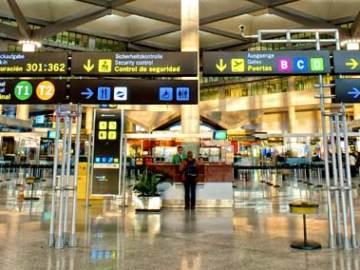 Terminal de un aeropuerto español
