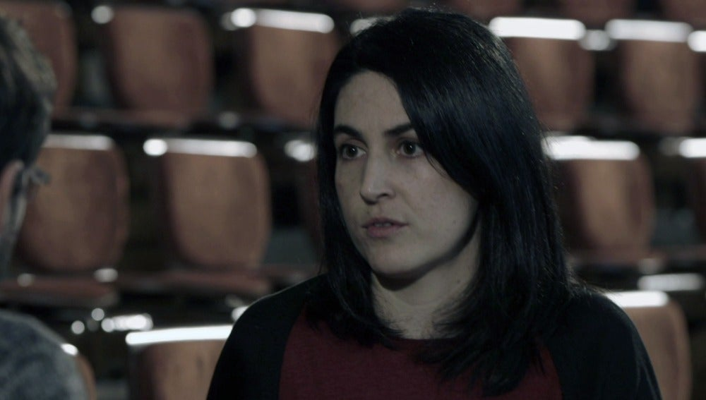 La periodista Elena Sevillanos