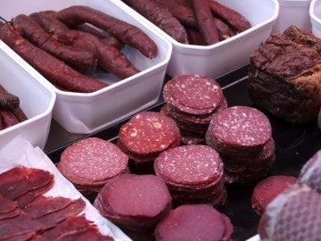 Imagen de archivo de una carnicería