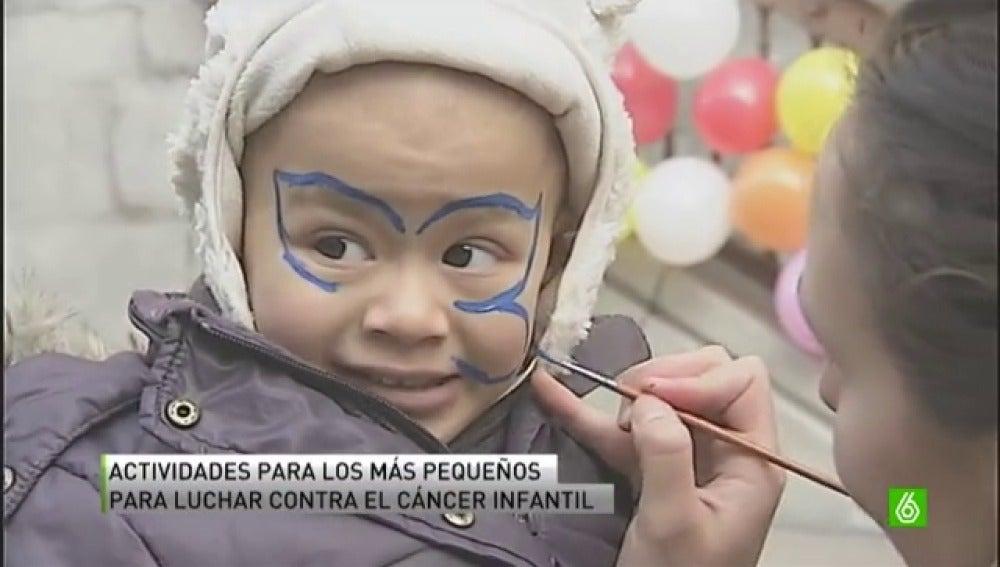 Abrazos solidarios contra el cáncer infantil