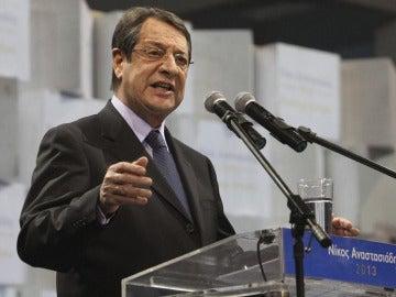 El conservador Nikos Anastasiadis