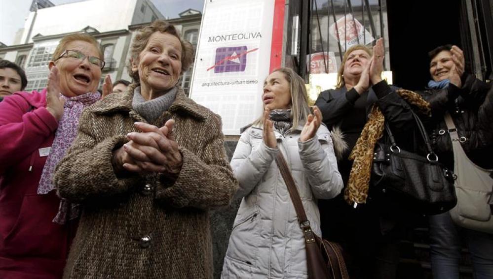 Aurelia Rey, la mujer de 85 años que iba a ser desahuciada