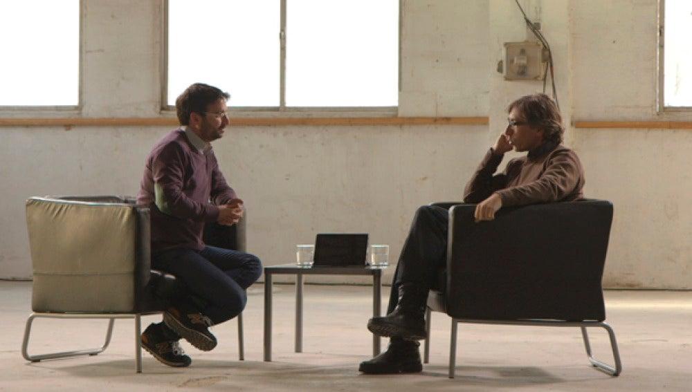 David Trueba entrevista a Jordi Évole