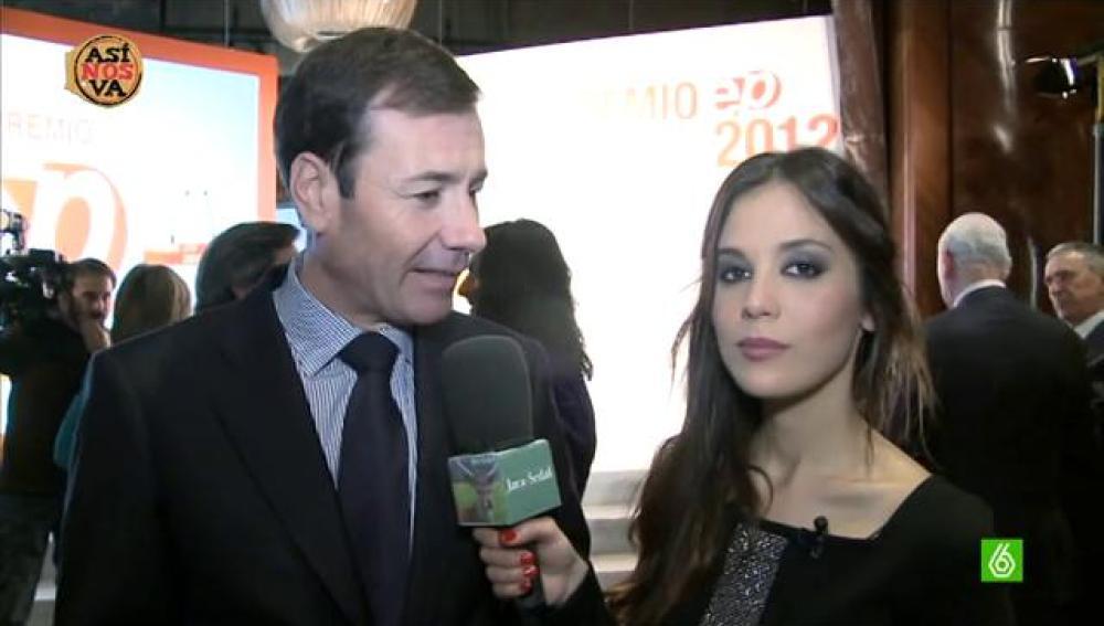 Tomás Gómez y Marta Márquez