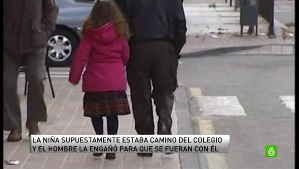 Detenido en pleno secuestro a una niña en Toledo