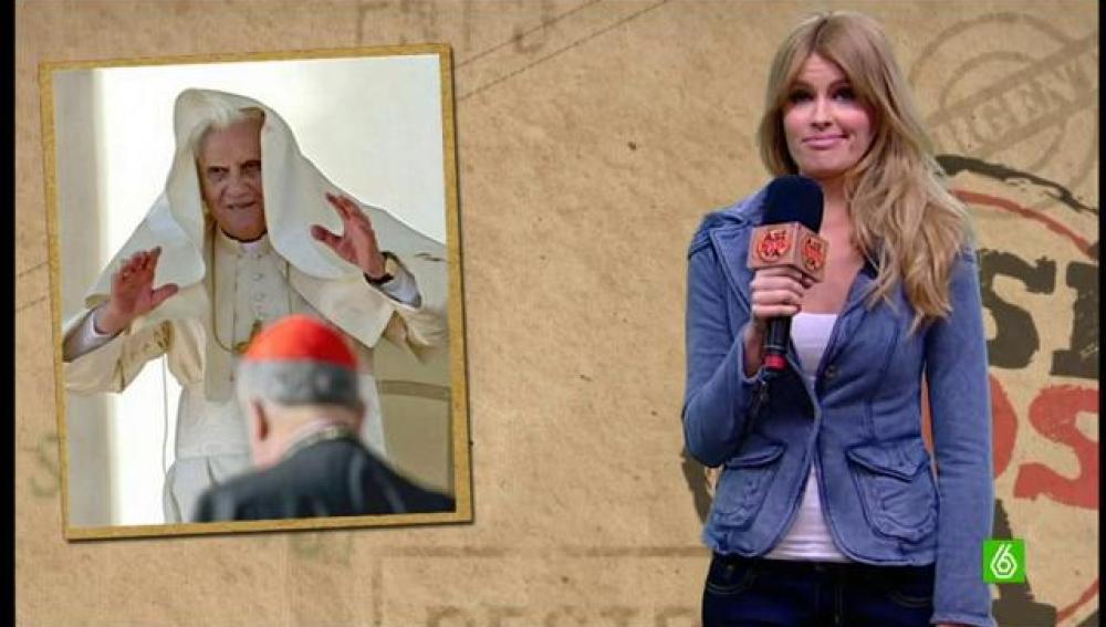 El Papa se despide cantando
