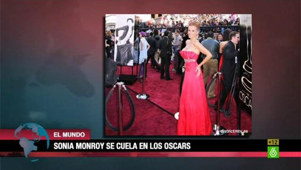 Sonia Monroy en los Oscars