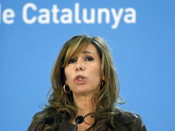 Alicia Sánchez-Camacho, presidenta del PPC