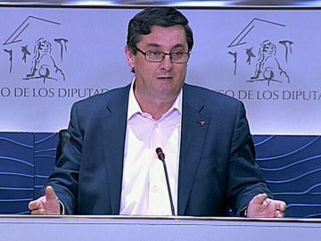 José Luis Centella, portavoz de Izquierda Plural.