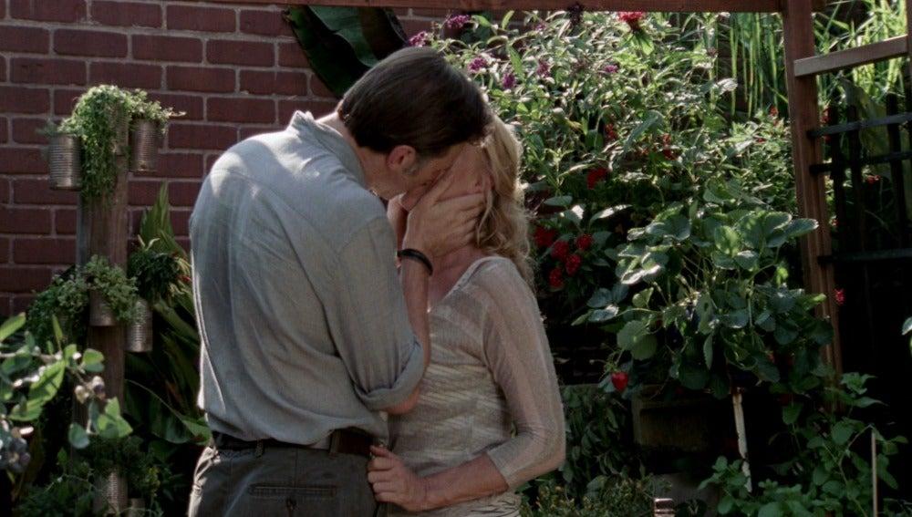 El Gobernador besa a Andrea