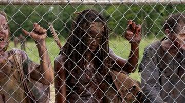 Michonne llega a la prisión